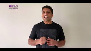 Byju Sir has a Special message for you!