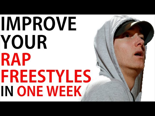 Here's What One Week Of Freestyle Rapping Will Teach You