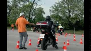 preview picture of video 'Fahrsicherheitstraining 2012.wmv'