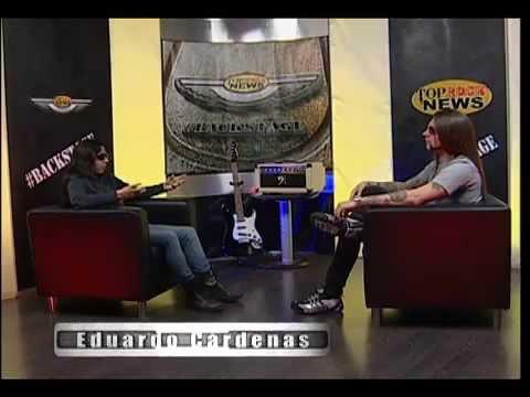 Entrevista en Top Rock News Backstage
