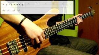 Bruno Mars   Treasure (Bass Cover) (Play Along Tabs In Video)