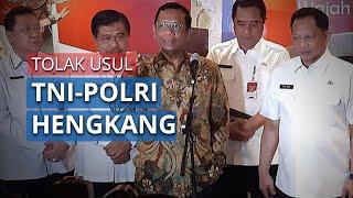 TNI-Polri Diusulkan Hengkang di Tengah Proses Pembangunan Papua, Mahfud: Enggak Mungkin!