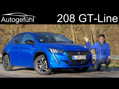 all-new Peugeot 208 GT-Line FULL REVIEW PureTech 130 - Autogefühl