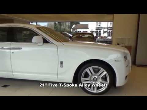 HY64UMX Rolls Royce Ghost Series II Arctic White