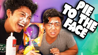 PIE TO THE FACE CHALLENGE!