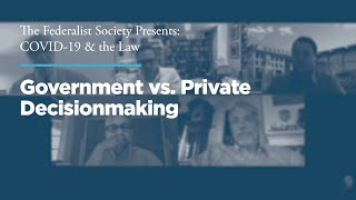 Click to play: Government vs. Private Decisionmaking