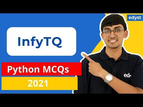 InfyTQ Python MCQs - YouTube
