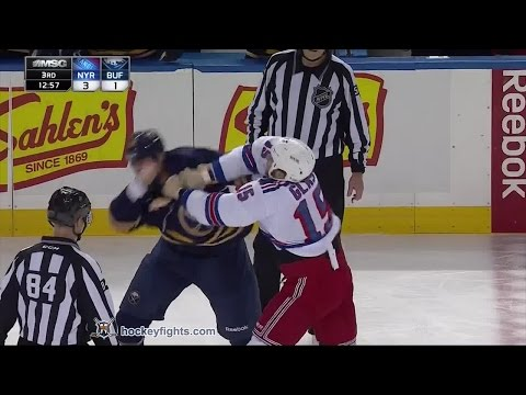 Tanner Glass vs Tyson Strachan