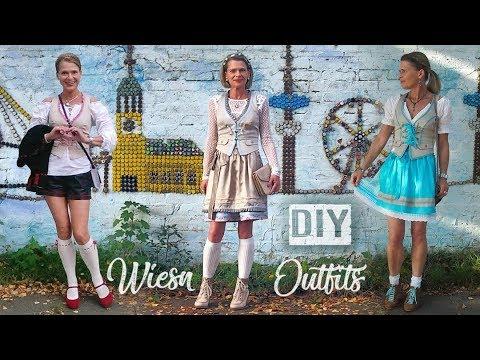 DIY: Drei Oktoberfest Outfits zum Selbermachen - Never2Late