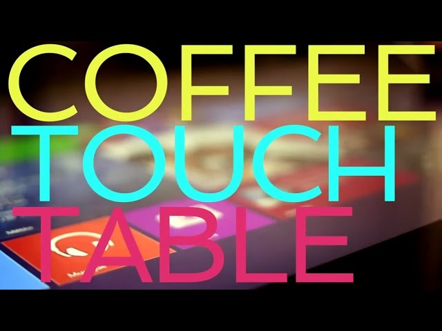 Touch Table Touch Furniture Humelab