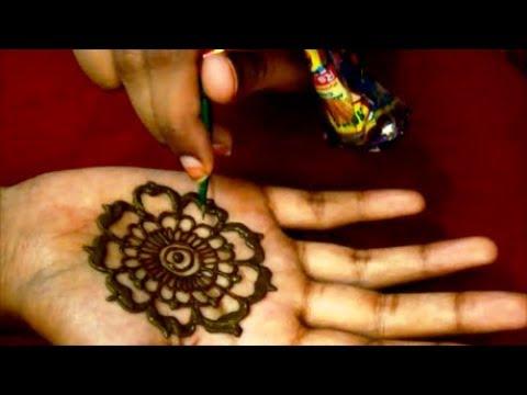 Mehndi Designs Simple Easy For Kids Mehndi Henna Design Tutorials