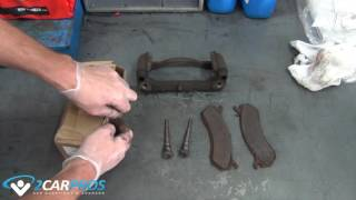 Brake Pad and Rotor Replacement - Front