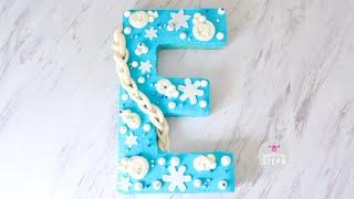 ELSA E CAKE || Disney Alphabet Cake || Frozen