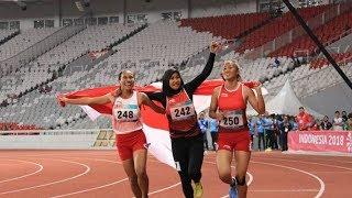 Dukungan Suporter bagi Para Atlet Asian Para Games Indonesia Sangat Berpengaruh