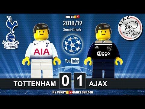 Tottenham Vs Ajax 0-1 UCL 2019 Goals Highlight