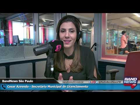 Entrevista sobre com o secretário César Azevedo sobre a Lei de Anistia em São Paulo