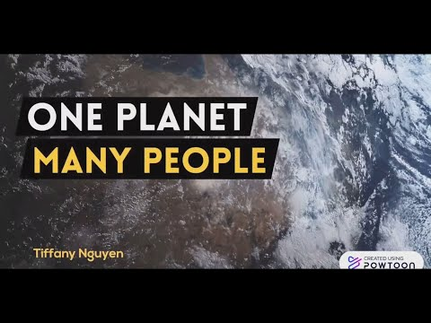 One Planet, Many People - by Tiffany Nguyen