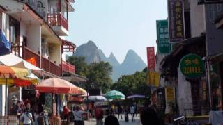Video : China : GuiLin 桂林 and YangShuo 阳朔, GuangXi province