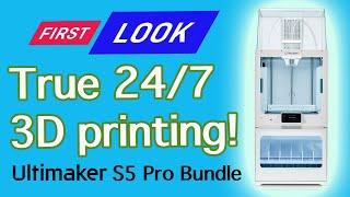 Ultimaker S5 Pro Bundle - Continuous 3D Printing 24/7