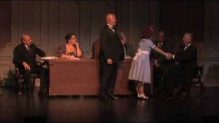 TOMORROW and CABINET SCENE from ANNIE. 2012 F.A.N. production. MADI LIGTERMOET as ANNIE