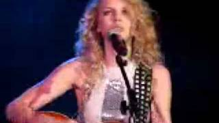 Taylor Swift Invisible Live with lyrics