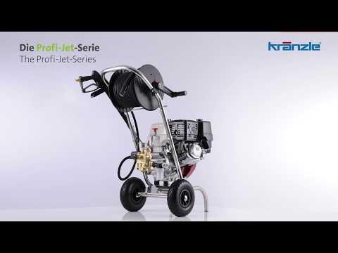Kränzle Profi-Jet-Serie | Hochdruckreiniger mit Verbrennungsmotor