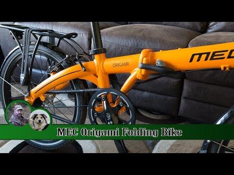 MEC Origami Folding Bike Review – 1 year on