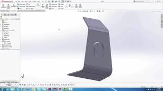 SOLIDWORKS - Sketched Bend