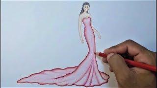 Fashion Drawing - Fashion Designer Drawing Step By Step