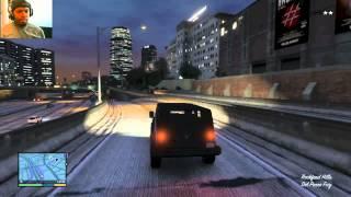 Grand Theft Auto 5 Walkthrough Part 95 - 5 STAR ATTEMPT! | GTA 5 Walkthrough
