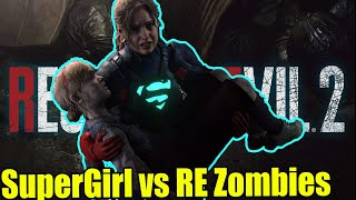 Supergirl vs Zombies