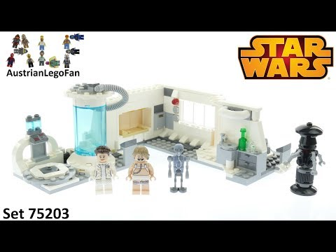 Vidéo LEGO Star Wars 75203 : La chambre médicale sur Hoth