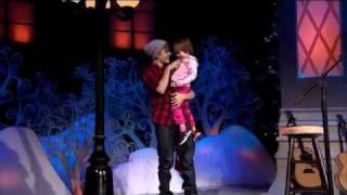 """Justin Bieber sings """"Baby"""" with his sister Jazmyn"""