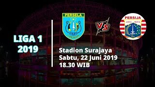 Link Live Streaming Liga 1 2019, Persela Vs Persija Sabtu (22/6) Pukul 18.30 WIB