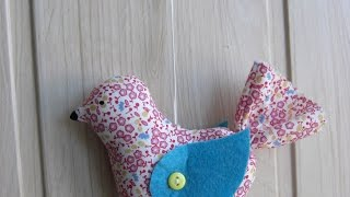 Make A Cute Patchwork Bird - DIY Crafts - Guidecentral