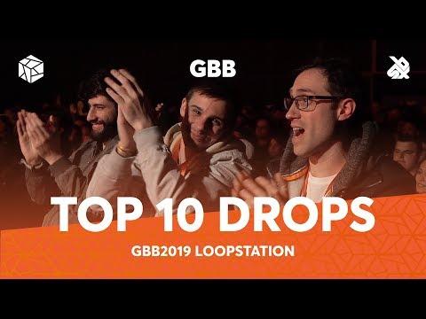 TOP 10 DROPS 😱 Grand Beatbox Battle Loopstation 2019