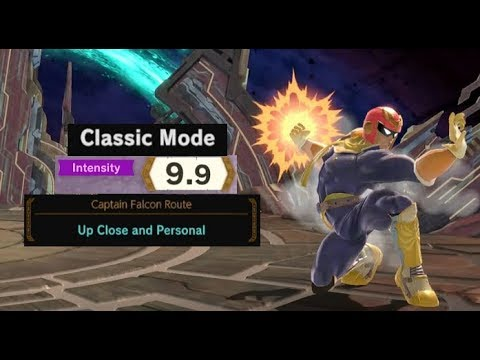 Download Super Smash Bros. Ultimate: Classic Mode with Captain Falcon (Intensity 9.9 Clear) HD Mp4 3GP Video and MP3