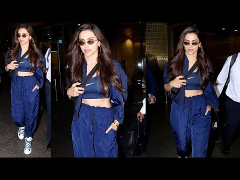 Deepika Padukone's Stylish Airport Look As She Heads Back In Town From Delhi