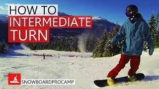 #32 Snowboard intermediate – How to do intermediate snowboard turns
