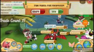 Trade attempts for Raccoon Tail on Animal Jam Play Wild