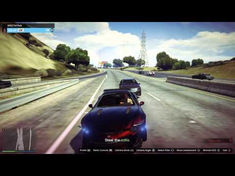 GTA Game Slowly Descends Into Glitch Hell