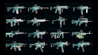 All My Loadouts (including ALL *Black Ice* skins) - Rainbow Six Siege: Operation Para Bellum