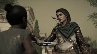 Assassin's Creed Odyssey - Abandoned By The Gods: Athens In Ruins Kleon & Phoibe Cutscene (2018)