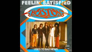 "Video thumbnail of ""Boston - Feelin' Satisfied (1978 LP Version) HQ"""