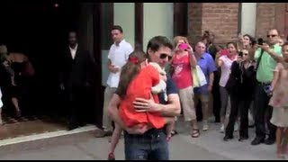 СУРИ КРУЗ, Tom Cruise & Suri Cruise first Day Out together in New York City