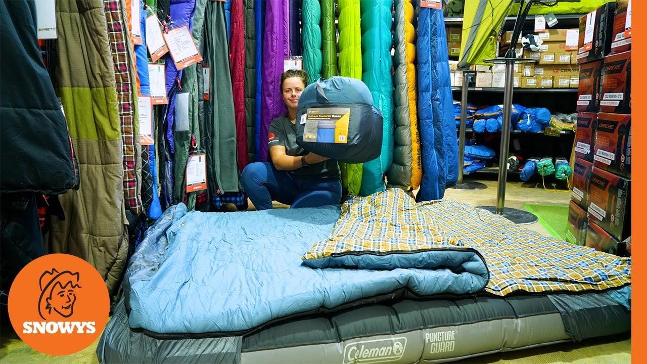 Outback Comforter Queen Sleeping Bag
