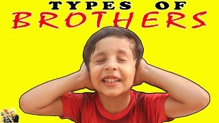 TYPES OF BROTHER  Naughty Brother || Aayu and Pihu Show
