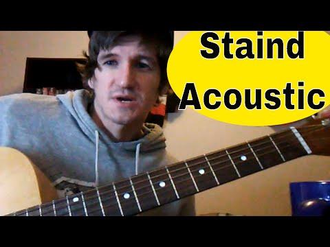 Beginner Guitar Lesson Staind Outside Robs Garage Studio For