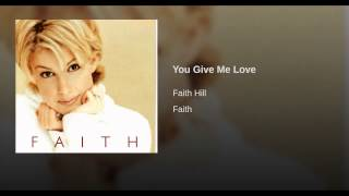 You Give Me Love
