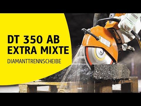 Klingspor - Diamanttrennscheibe DT 350 AB Extra MIXTE | Produktvideo